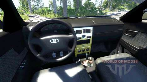 ВАЗ-2170 Installé Avant pour BeamNG Drive