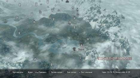 Petite ferme pour le troisième écran Skyrim