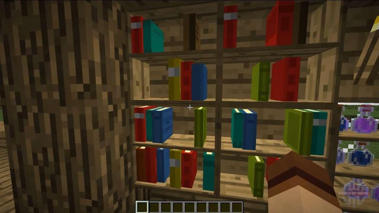 Bücherregale Minecraft neue bücherregale für minecraft
