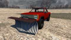 Gavril D-Series Snow Plow für BeamNG Drive