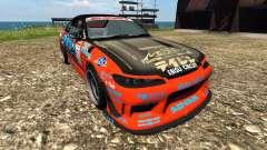 Nissan Silvia S15 Sport für BeamNG Drive
