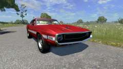 Ford Mustang Shelby GT500 428 Cobra Jet 1969 für BeamNG Drive