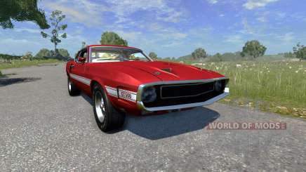 Ford Mustang Shelby GT500 428 Cobra Jet 1969 pour BeamNG Drive