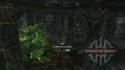 Nebeneinkünfte lycanthropy ohne skill für Skyrim