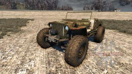 Hell Jeep pour BeamNG Drive