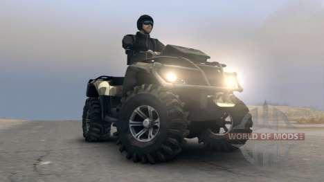 ATV Outlander v1 für Spin Tires