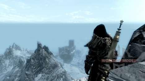 Le port de parchemins pour le troisième écran Skyrim