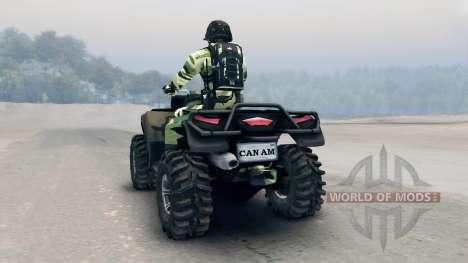 Les VTT Outlander v3 pour Spin Tires