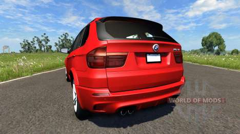BMW X5M Red pour BeamNG Drive