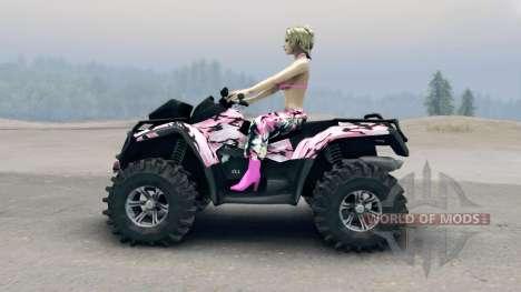 ATV Outlander v2 für Spin Tires