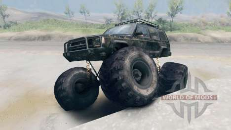 Jeep Grand Cherokee Monster für Spin Tires