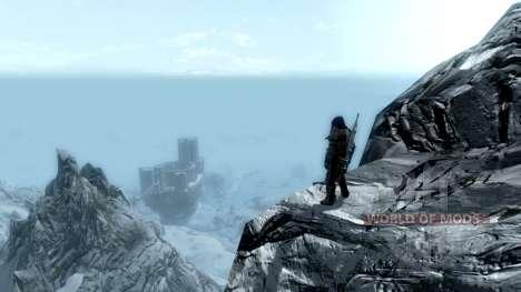 Le port de parchemins pour Skyrim deuxième écran