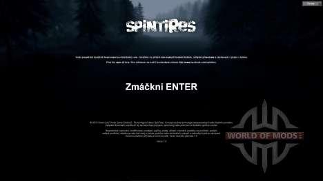 Traduction tchèque pour Spin Tires