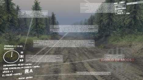 Traduction en turc pour Spin Tires