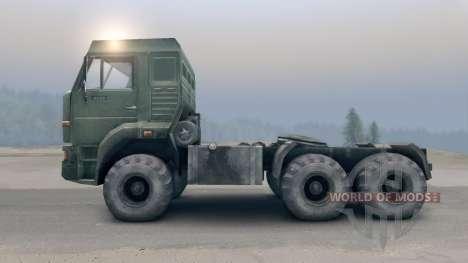 KamAZ-65116 v2.0 für Spin Tires