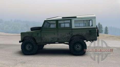 Land Rover Defender Green für Spin Tires