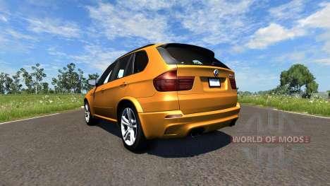 BMW X5M Orange für BeamNG Drive