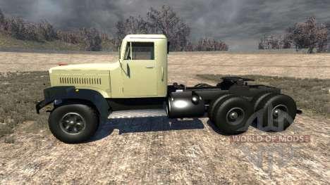 Kraz-258 pour BeamNG Drive