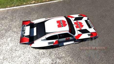 Ford Capri Zakspeed Turbo Group 5 für BeamNG Drive