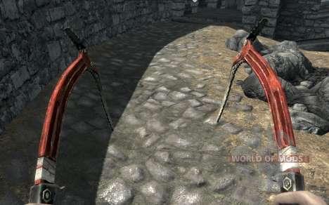 Kleidung und Waffen von Lara Croft für das vierte Skyrim-Screenshot