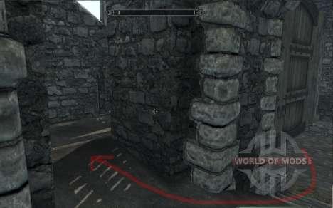 Kleidung und Waffen von Lara Croft für Skyrim sechsten Screenshot