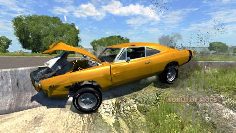 Dodge Charger RT 1970 für BeamNG Drive