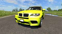BMW X5M Yellow pour BeamNG Drive