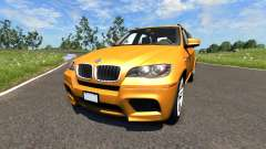 BMW X5M Orange pour BeamNG Drive