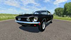 Ford Mustang Shelby Eleanor 1967 pour BeamNG Drive