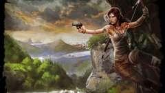 Les vêtements et les armes de Lara Croft