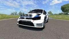 Volkswagen Polo R WRC für BeamNG Drive