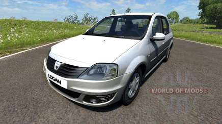 Dacia Logan 2008 für BeamNG Drive