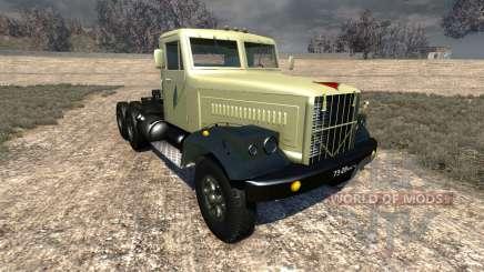 KRAZ-258 für BeamNG Drive