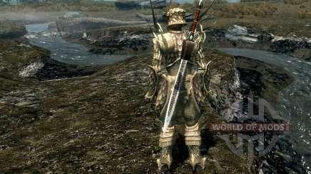Rüstung und Waffen der Mode Geschenk Von Kynareth für Skyrim