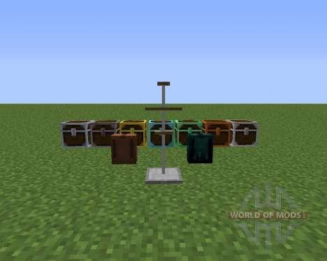 Better Storage Mod pour Minecraft