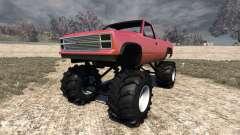 Gavril D-Series Monster Truck v2 pour BeamNG Drive