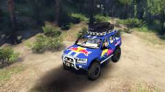 Jeep Grand Cherokee WJ Red Bull für Spin Tires