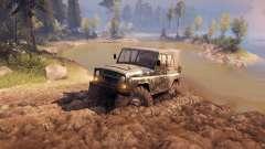 УАЗ-469 Monster-Truck v1.1 für Spin Tires