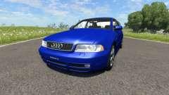 Audi S4 2000 [Pantone Reflex Blue C] für BeamNG Drive