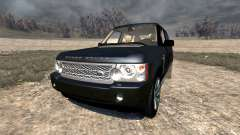Range Rover Supercharged 2008 [Black] pour BeamNG Drive