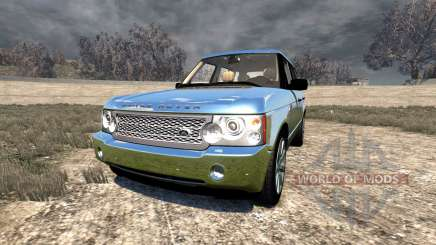 Range Rover Supercharged 2008 [Chrome] für BeamNG Drive