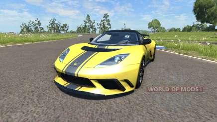 Lotus Evora GTE 2011 [Yellow] für BeamNG Drive