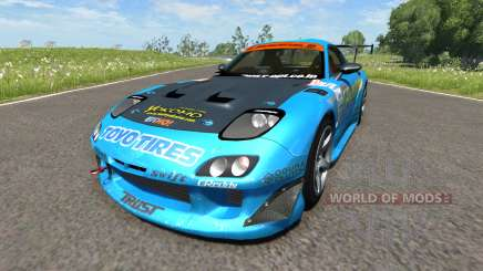 Mazda RX-7 Drift GReddy pour BeamNG Drive