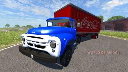 ZIL-V mit semi Coca-Cola für BeamNG Drive
