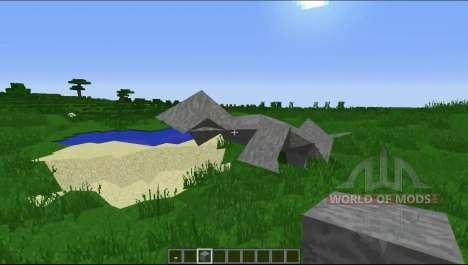 Vers le bas avec l'Équerrage pour Minecraft