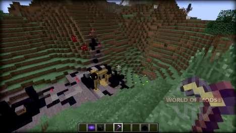 Grotte monde pour Minecraft