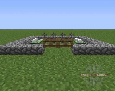 Gravestone Mod für Minecraft