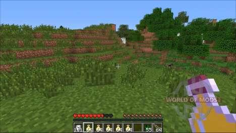 Ein random-Effekt für Minecraft