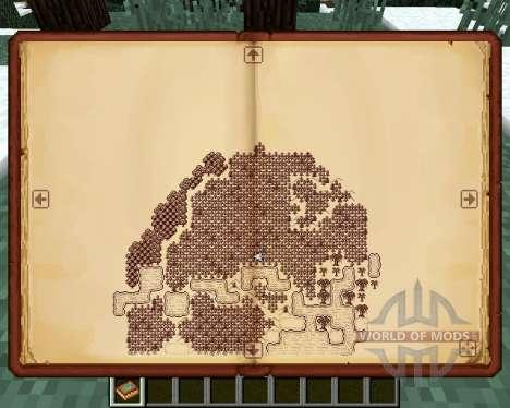Antique Atlas für Minecraft