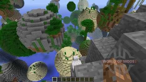 Der neue generator für Minecraft